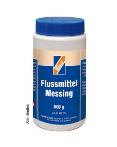 Flussmittel Messing